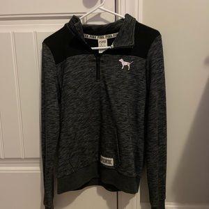 half-zip up jacket